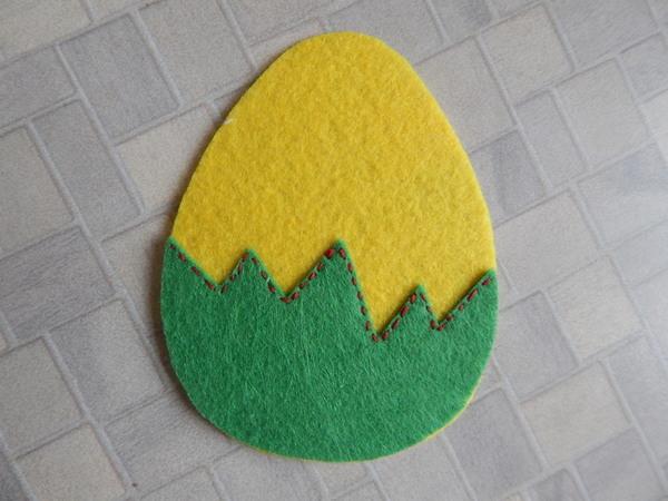яйцо травка